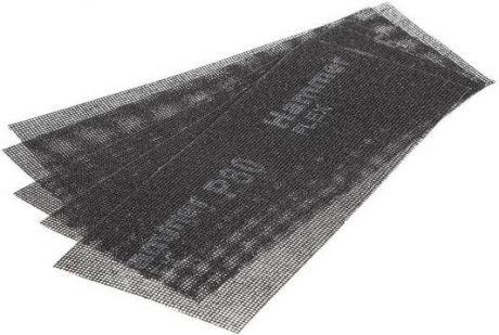 Сетка шлифовальная абразивная Р80 110*280 мм (10 шт.)