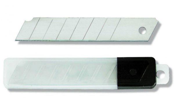 Запасные лезвия 18 мм, 10 шт.