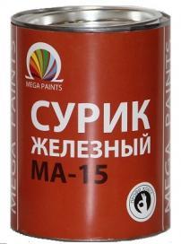 Краска МА-15 Бико колор Люкс Сурик железный 7 кг