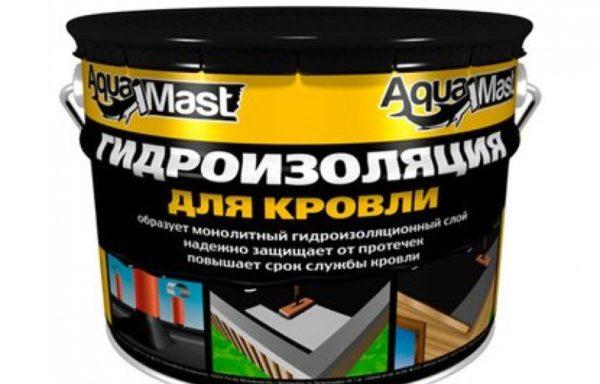 Мастика битумная aquamast 3 кг