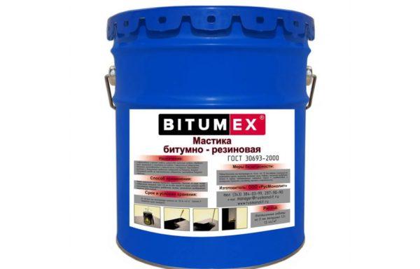 Мастика битумно-резиновая 5 л