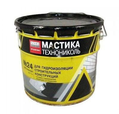 Мастика гидроизоляционная №24 3 кг