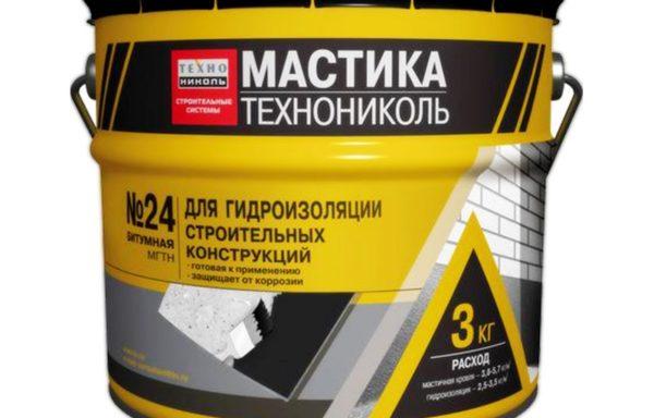 Мастика гидроизоляционная №24 3,5 кг