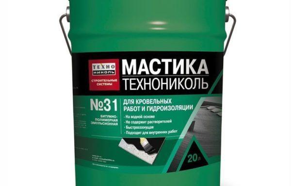 Мастика кровельная эмульсионная№21 20 кг