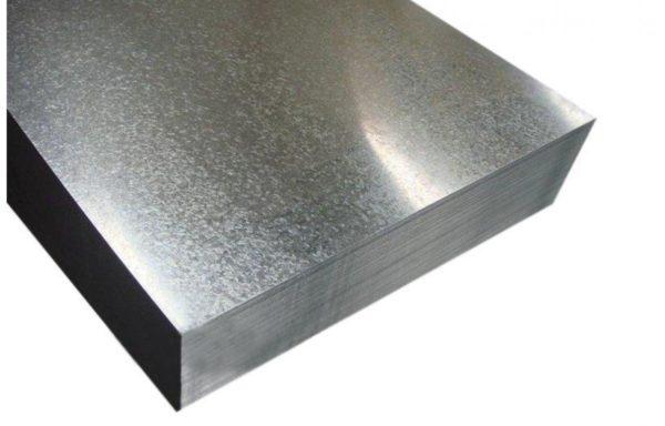 Оцинкованное железо 0,55х2,7 м