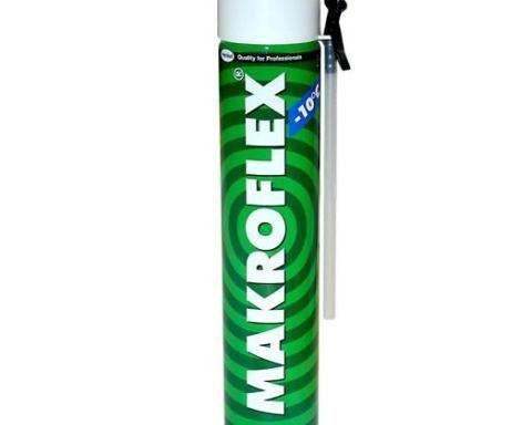 Пена монтажная, стандарт, зимняя, 750 мл, Makroflex