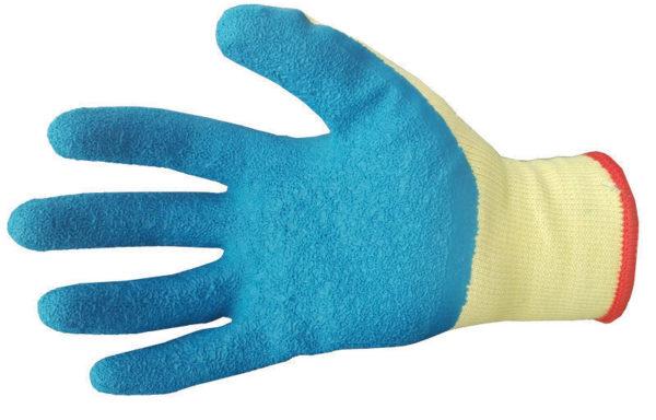 Перчатки хб с рельефным покрытием