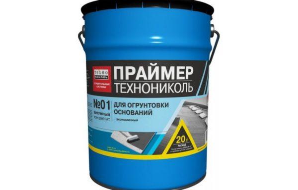 Праймер битумный ТЕХНОНИКОЛЬ №01 ведро 20л