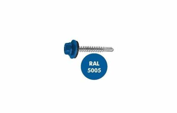 Саморез кровельный RAL-5005 ZP 4.8-28 шт