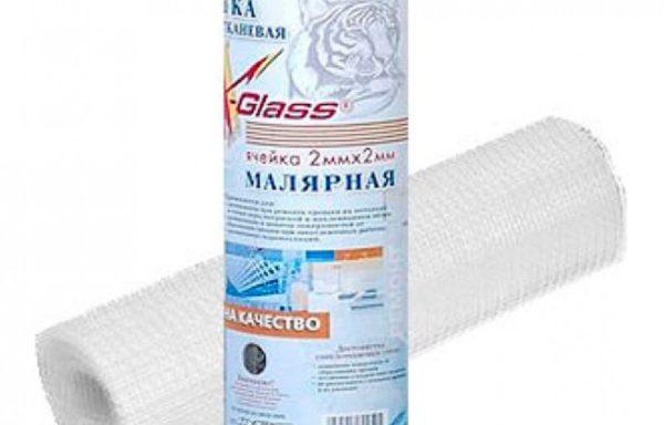 Сетка малярная 2х2, 1.0х50 м, X-Glass