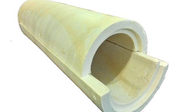 Скорлупа теплоизоляционная ППУ 032х30 без покрытия