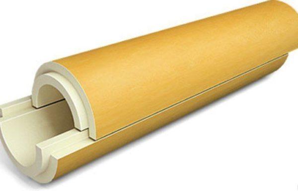 Скорлупа теплоизоляционная ППУ 114х40 без покрытия