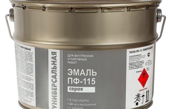Эмаль ПФ-115 Бико колор люкс, серая 6.0 кг