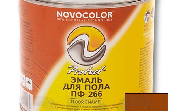 Эмаль для пола красно-коричневая 2.7 кг