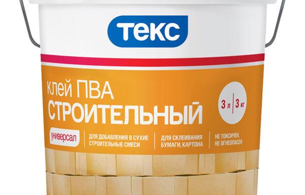 Клей ПВА строительный 3 кг