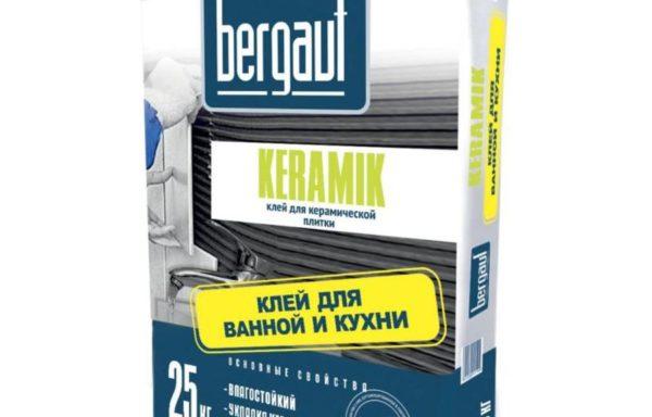 Клей для керамич и кафель. плитки Bergauf 25 кг