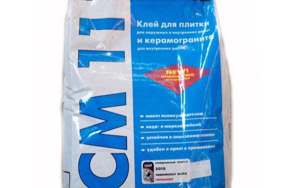 Клей для плитки внутр.наруж. работ белый CM11 Ceresit 5 кг