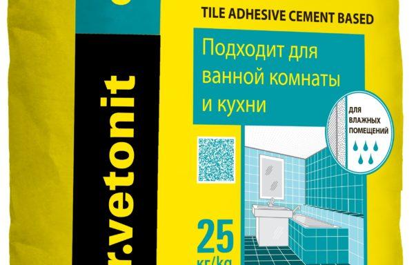 Клей плиточный для внутр. работ Оптима Weber Vetonit 25 кг