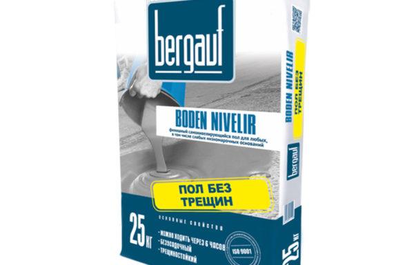 Пол наливной финишный Боден Нивелир Bergauf 25 кг
