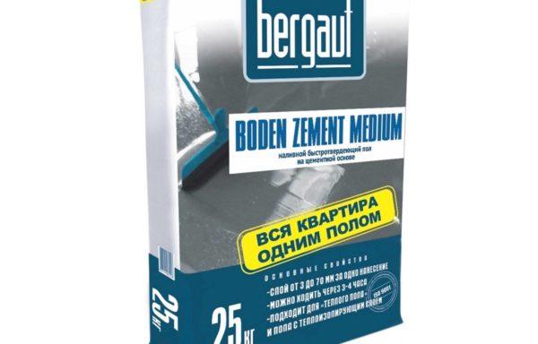 Пол наливной Boden Bergauf 25 кг