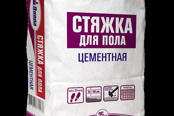 Стяжка бетонная для пола Д-342 Диола 25 кг