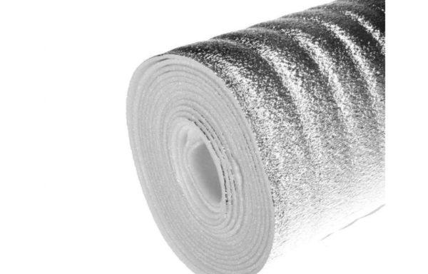 Теплозвукоизоляция фольга Термодом 100х8мм 30 м