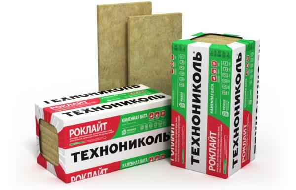 Теплоизоляционная плита минераловатная Техноблок стандарт Роклайт 1200х600х50мм