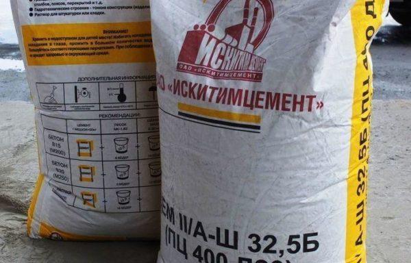 Цемент ПЦ 400 Д20 Искитим, 50 кг