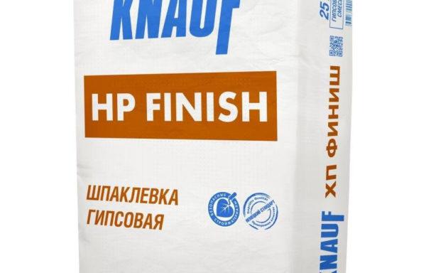 Шпаклевка гипсовая НР Finish Кнауф 25 кг