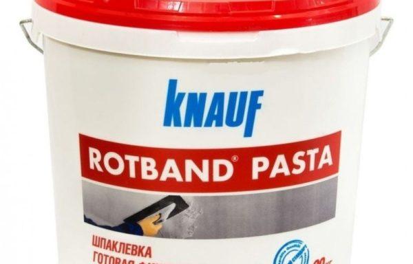 Шпаклевка готовая Ротбанд паста Кнауф 20 кг