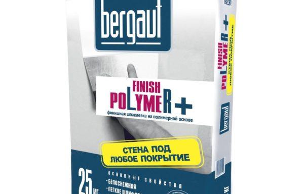 Шпаклевка финишная на полимерной основе Bergauf 25 кг