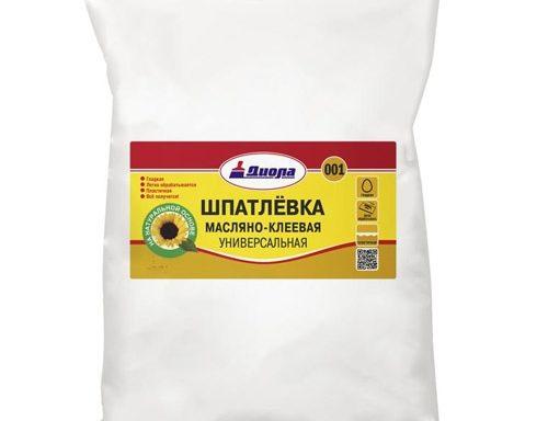 Шпатлевка масляно-клеевая Д-001 Диола 2 кг