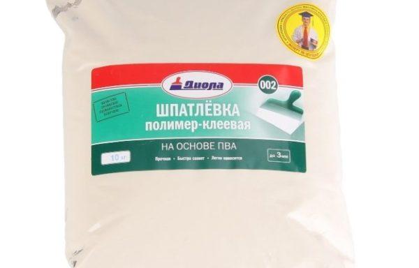 Шпатлевка полимерная Д-002 Диола 10 кг