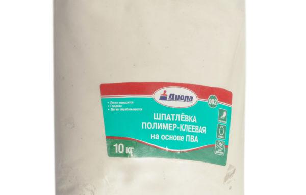 Шпатлевка полимерная Д-002 Диола 2 кг