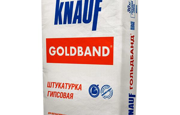 Штукатурка Гольдбанд Кнауф 30 кг