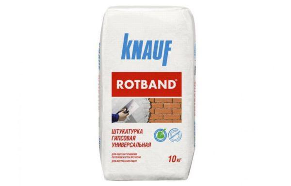 Штукатурка Ротбанд Кнауф 10 кг